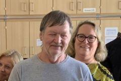 unserem Schulwart Peter Hölbling wurde zum 60er gratuliert